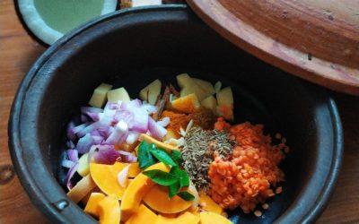 Schnelle Dal-Gemüse-Suppe