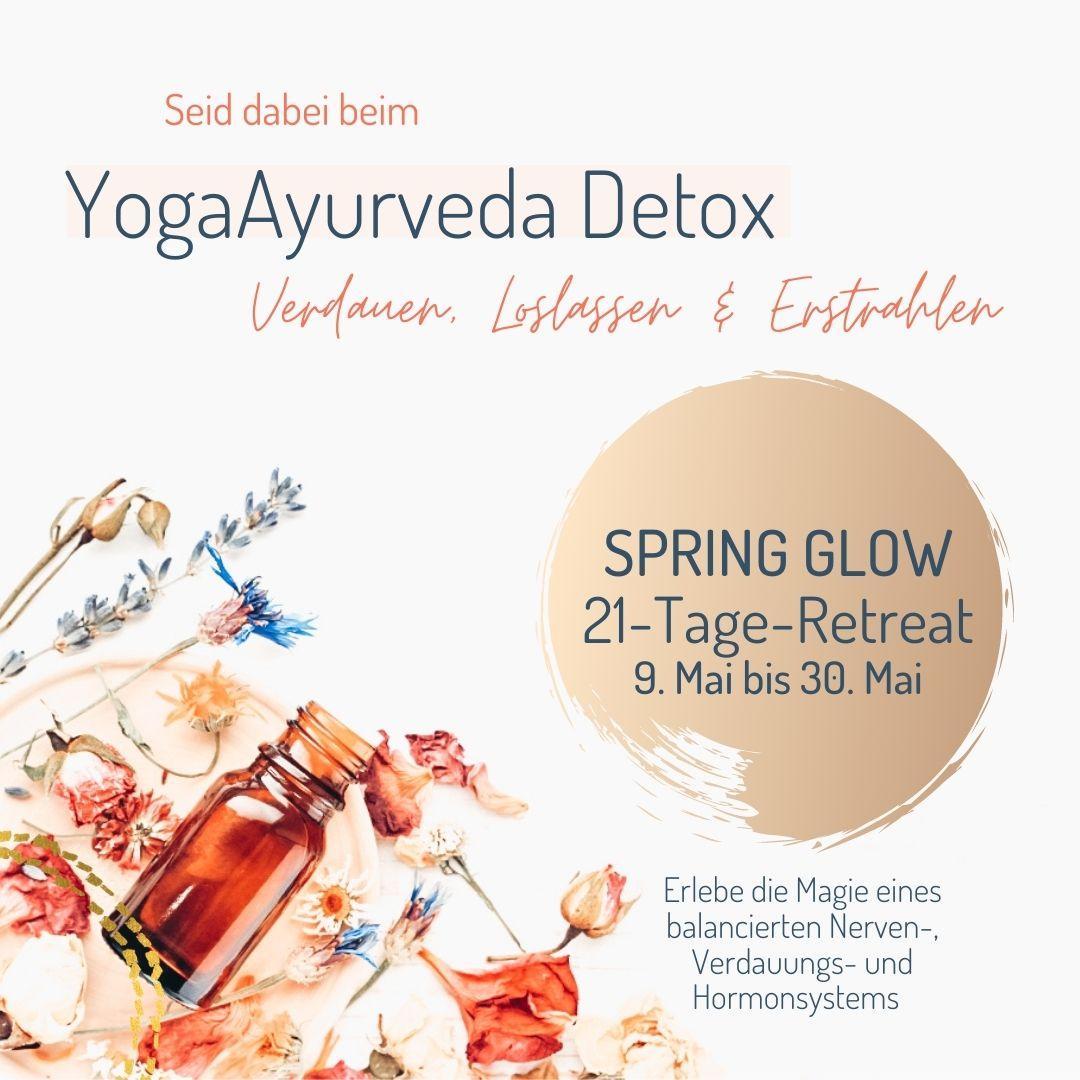 Ablauf YogaAyurveda Detox Retreat